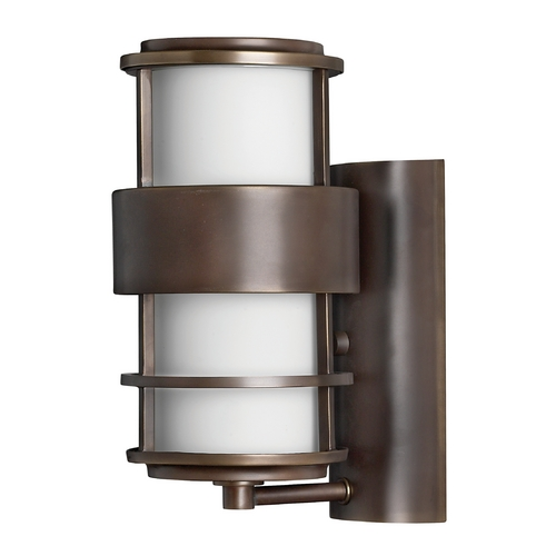 Hinkley Contemporary / Modern Outdoor Wall Light Bronze Saturn by Hinkley 1900MT