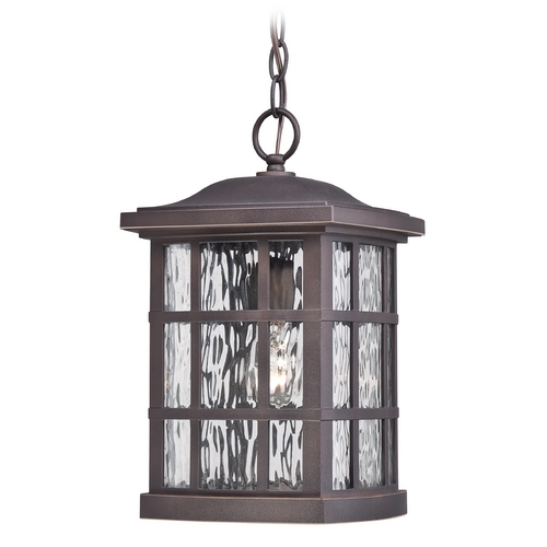 Quoizel Lighting Quoizel Stonington Palladian Bronze Outdoor Hanging Light SNN1909PN