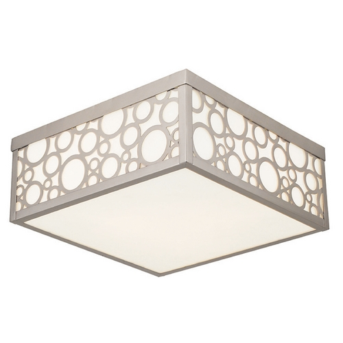 Livex Lighting Livex Lighting Avalon Brushed Nickel Flushmount Light 86793-91