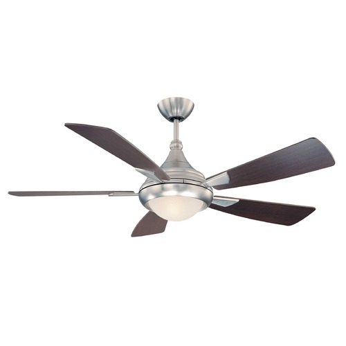 Savoy House Savoy House Satin Nickel Ceiling Fan with Light 54-471-5CN-SN