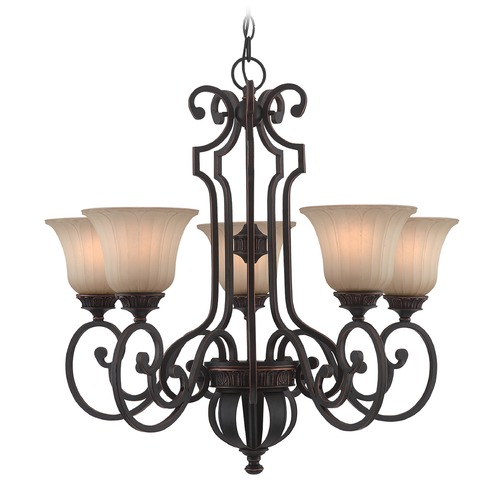 Lite Source Lighting Lite Source Crescentia Antique Bronze Chandelier C71351