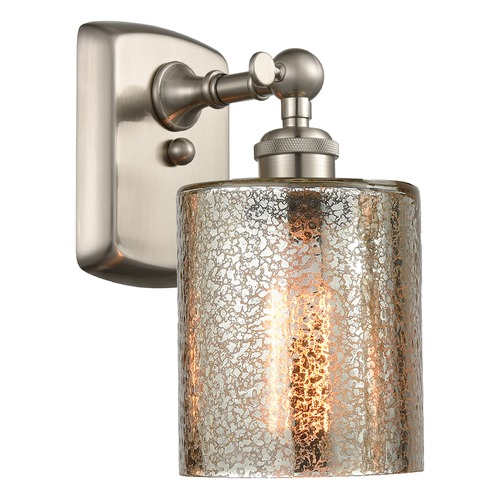 Innovations Lighting Innovations Lighting Cobbleskill Brushed Satin Nickel Sconce 516-1W-SN-G116