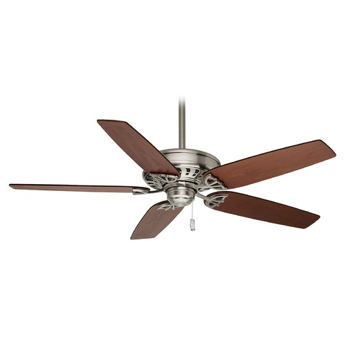 Casablanca Fan Co Casablanca Fan Concentra Brushed Nickel Ceiling Fan Without Light 54021