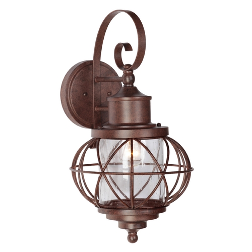 Craftmade Lighting Craftmade Lighting Revere Aged Bronze Outdoor Wall Light Z5924-98