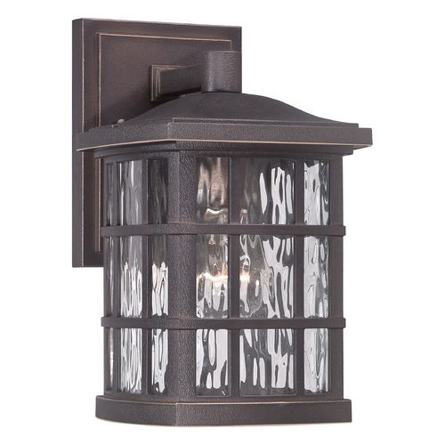 Quoizel Lighting Quoizel Stonington Palladian Bronze Outdoor Wall Light SNN8406PN