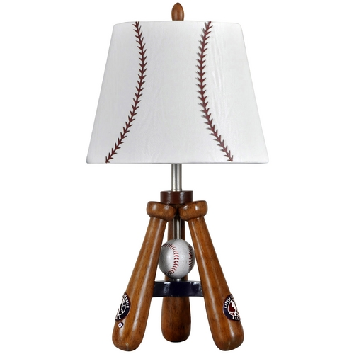 StyleCraft Stylecraft Transitional Baseball Bat & Ball Table Lamp LL1002DS