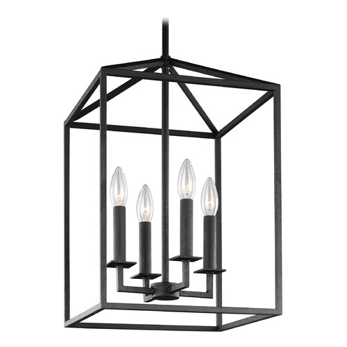 Sea Gull Lighting Sea Gull Perryton Blacksmith Pendant Light 5115004-839