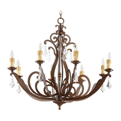 Quorum Lighting Quorum Lighting Montgomery Vintage Copper Chandelier 619-8-39