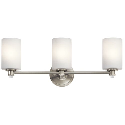 Kichler Lighting Kichler Lighting Joelson Brushed Nickel LED Bathroom Light 45923NIL16