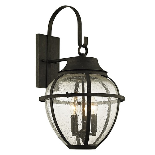 Troy Lighting Troy Lighting Bunker Hill Vintage Bronze Outdoor Wall Light B6452