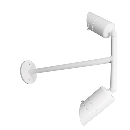 WAC Lighting WAC Lighting Endurance Architectural White LED Outdoor Wall Light WP-LED529-40-aWT