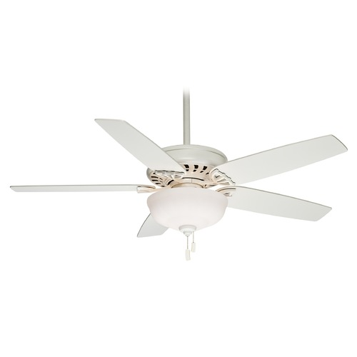 Casablanca Fan Co Casablanca Fan Concentra Gallery Snow White Ceiling Fan with Light 54022
