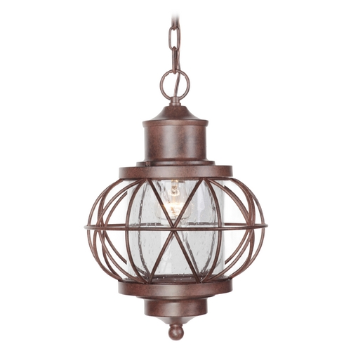Craftmade Lighting Craftmade Lighting Revere Aged Bronze Outdoor Hanging Light Z5921-98