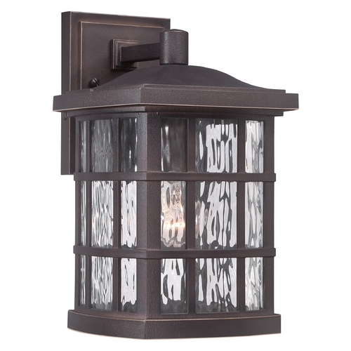 Quoizel Lighting Quoizel Stonington Palladian Bronze Outdoor Wall Light SNN8408PN
