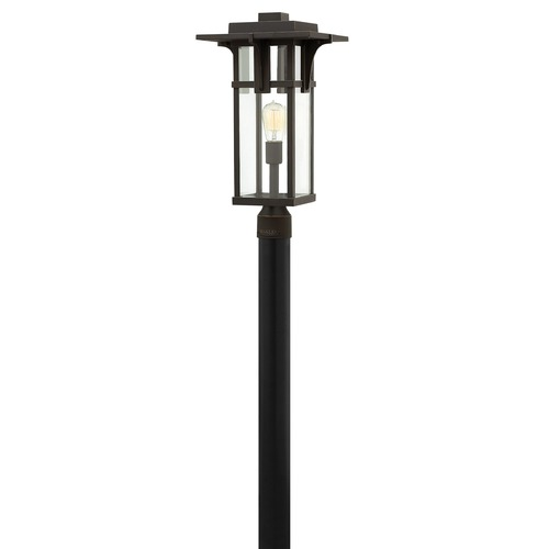Hinkley Lighting Hinkley Lighting Manhattan Oil Rubbed Bronze LED Post Light 2321OZ-LED