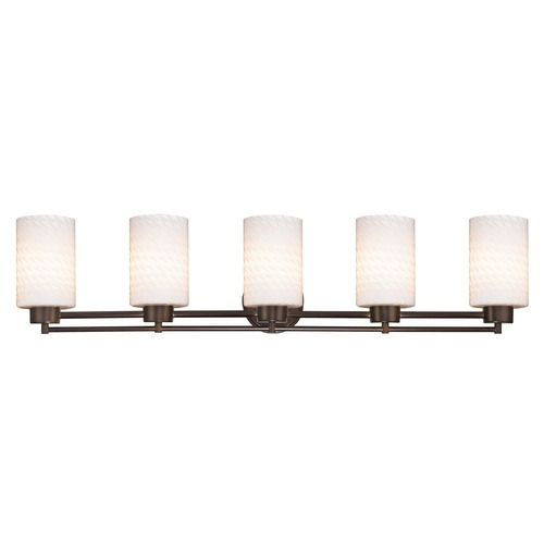 Design Classics Lighting Bronze Bathroom Light 706-220 GL1020C