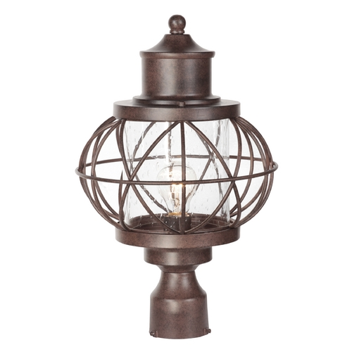 Craftmade Lighting Craftmade Lighting Revere Aged Bronze Post Lighting Z5925-98
