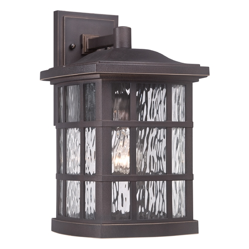 Quoizel Lighting Quoizel Stonington Palladian Bronze Outdoor Wall Light SNN8409PN