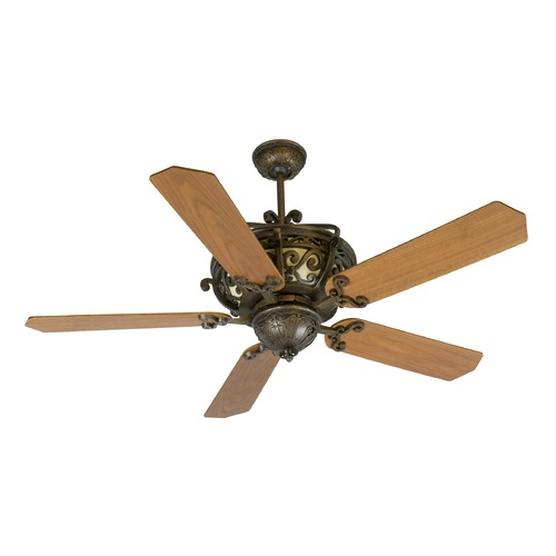 Craftmade Lighting Craftmade Lighting Toscana Peruvian Bronze Ceiling Fan with Light K10766