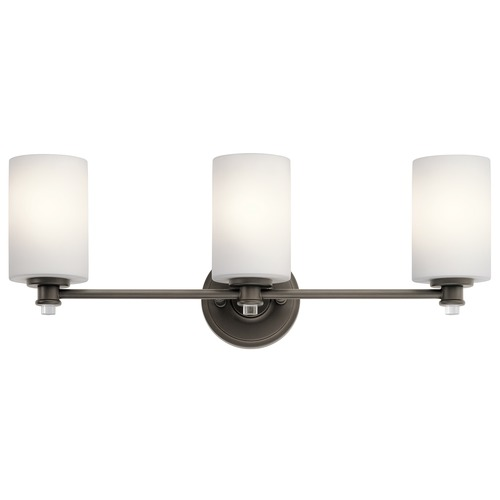 Kichler Lighting Kichler Lighting Joelson Olde Bronze LED Bathroom Light 45923OZL16