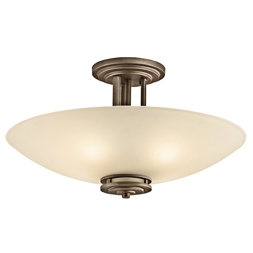 Kichler Lighting Kichler Modern Pendant Light in Olde Bronze Finish 3677OZ