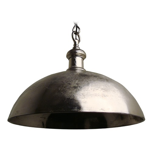 Light and Living Vintage Style Metal Bowl Pendant Light 3034357