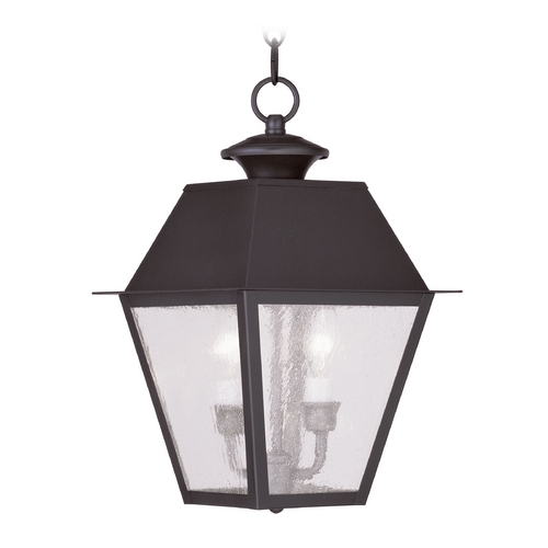 Livex Lighting Livex Lighting Mansfield Bronze Outdoor Hanging Light 2167-07
