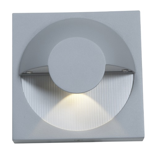 Access Lighting Access Lighting Zyzx Satin Nickel Outdoor Wall Light 23061MG-SAT/FST