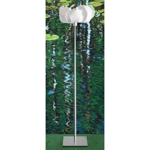 Oggetti Lighting Ninfea Aluminum Floor Lamp 33 401 Pl Destination Lighting