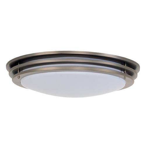 Sea Gull Lighting Sea Gull Lighting Nexus Brushed Nickel LED Flushmount Light 5925091S-962