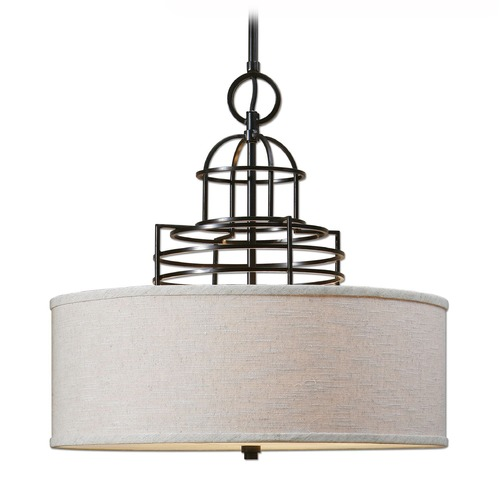 Uttermost Lighting Uttermost Cupola 3 Light Drum Shade 22021