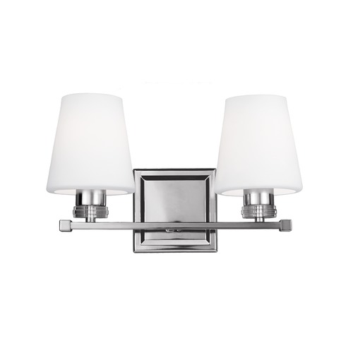 Feiss Lighting Feiss Lighting Rouen Polished Nickel Bathroom Light VS22202PN