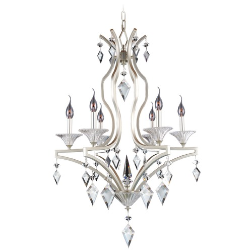 Allegri Lighting Florence 6 Light Crystal Chandelier 11675-022-FR001