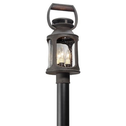 Troy Lighting Troy Lighting Old Trail Centennial Rust Post Light P4515