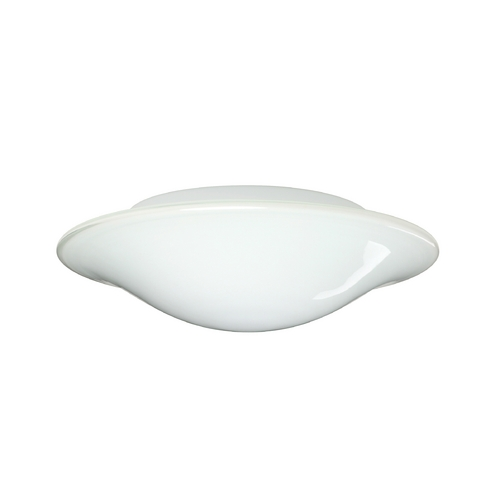 Besa Lighting Flushmount Light with White Glass 2CS-909639