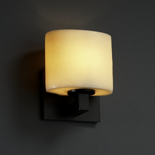 Justice Design Group Justice Design Group Candlearia Collection Sconce CNDL-8931-30-AMBR-MBLK