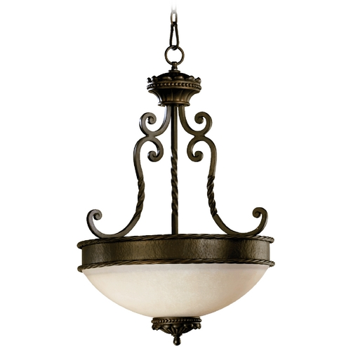 Quorum Lighting Quorum Lighting Alameda Oiled Bronze Pendant Light 8286-3-86