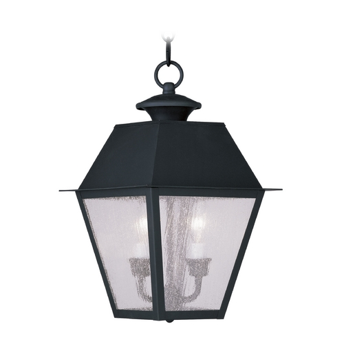Livex Lighting Livex Lighting Mansfield Black Outdoor Hanging Light 2167-04