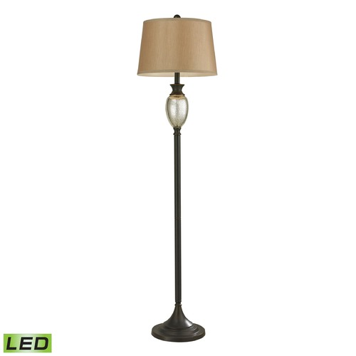 Dimond Lighting Dimond Lighting Antique Mercury, Bronze LED Floor Lamp with Empire Shade 113-1141-LED