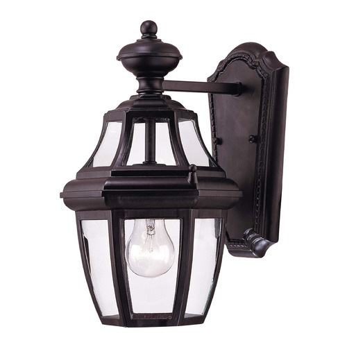 Savoy House Savoy House Black Outdoor Wall Light 5-490-BK