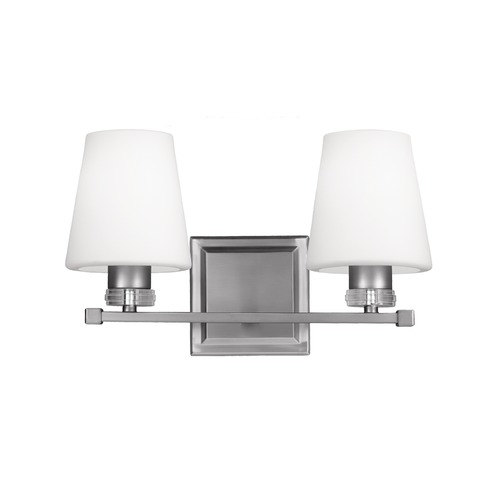 Feiss Lighting Feiss Lighting Rouen Satin Nickel Bathroom Light VS22202SN
