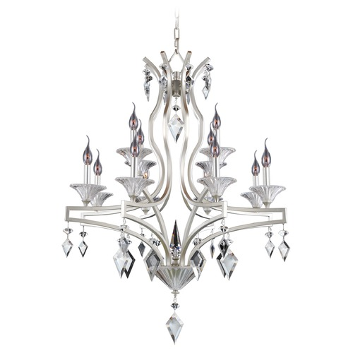Allegri Lighting Florence 12 Light Crystal Chandelier 11676-022-FR001