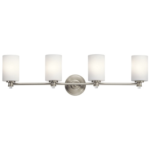 Kichler Lighting Kichler Lighting Joelson Brushed Nickel LED Bathroom Light 45924NIL16