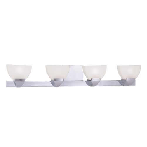 Livex Lighting Livex Lighting Gemini Chrome Bathroom Light 1364-05
