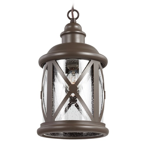 Sea Gull Lighting Sea Gull Lighting Lakeview Antique Bronze Outdoor Hanging Light 6221401-71