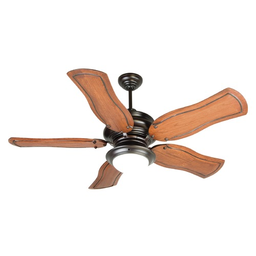 Craftmade Lighting Craftmade Lighting Townsend Oiled Bronze Ceiling Fan with Light K10774