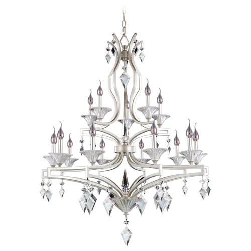 Allegri Lighting Florence 15 Light Crystal Chandelier 11677-022-FR001