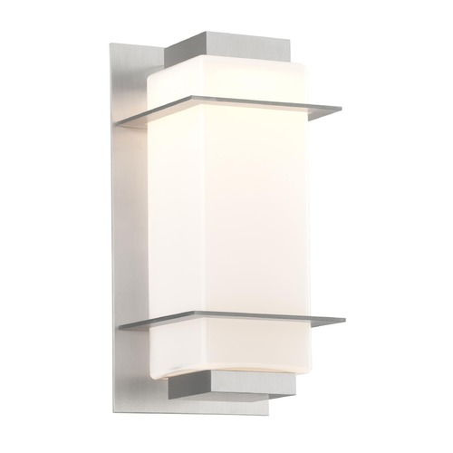 Troy Lighting Troy Lighting Paradox Satin Aluminum LED Outdoor Wall Light BL4601SA