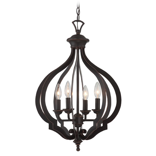 Lite Source Lighting Lite Source Orlena Dark Bronze Pendant Light C71358