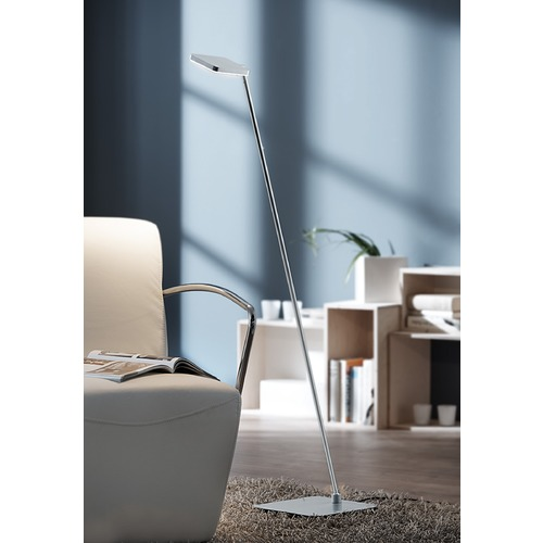 Holtkoetter Lighting Glanz??? Brushed Aluminum LED Swing Arm Lamp 9666LEDBA